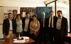 Nestor Da Costa, Mariana Contreras,Nicolas Iglesias, Margarita Percovich, Manfred Steffen Javier MIranda, Nelson Villareal
