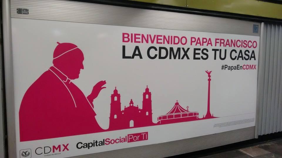 La visita del Papa Francisco a México