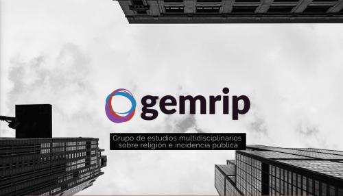 Nota de prensa: GEMRIP lanza nuevos diplomas y sitio web especializado en temas sobre Religión e Incidencia Pública