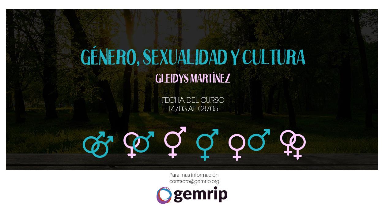 Curso virtual: Género, Sexualidad y Cultura