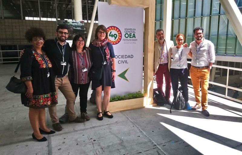 Diálogo con Sociedad Civil, 49 Asamblea de la OEA