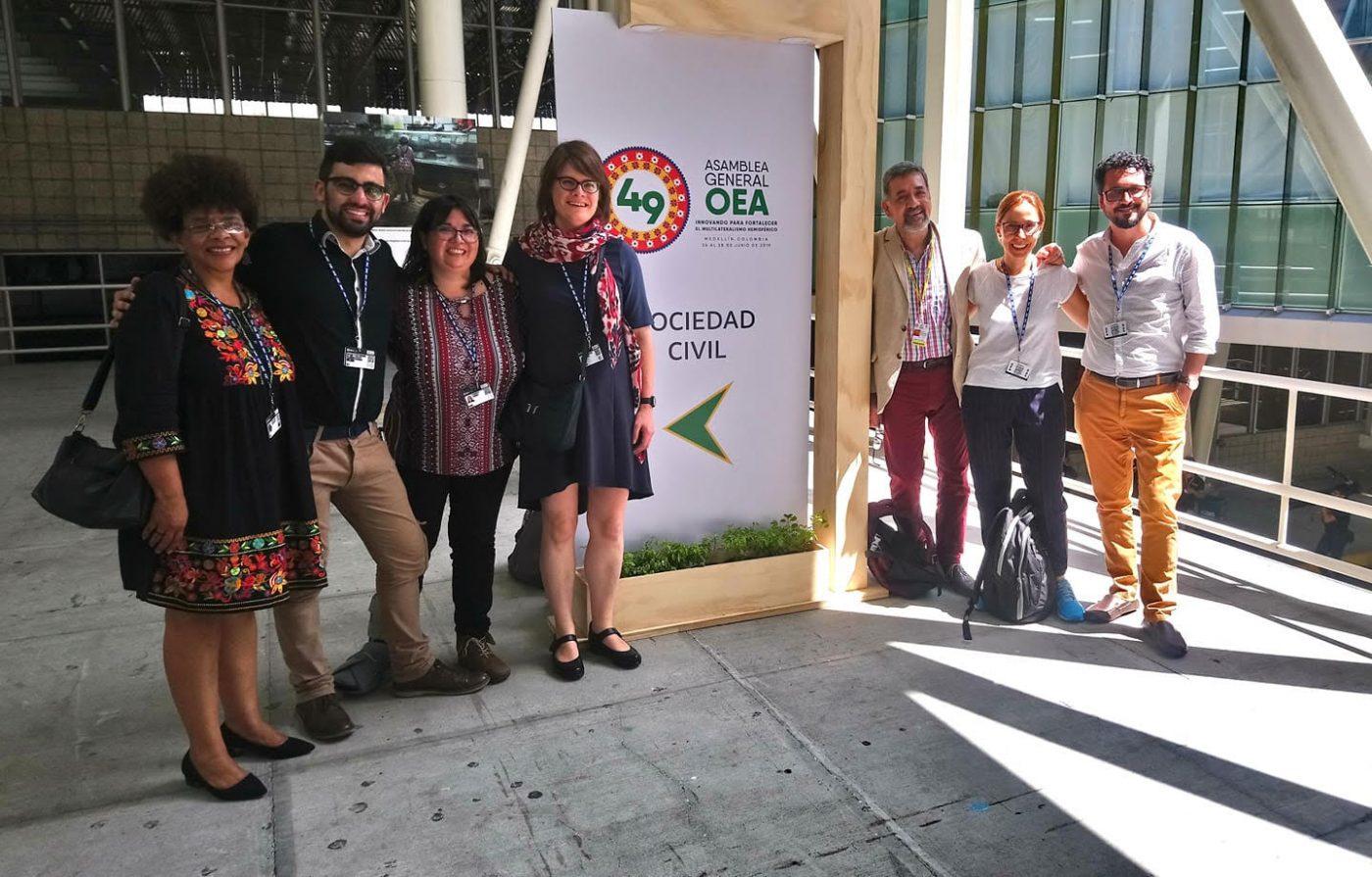 GEMRIP estuvo presente en la 49 Asamblea de la OEA
